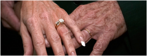 Retiree wedding bands